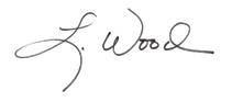 Laura Wood's signature