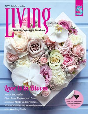 NW Georgia Living Holiday 2020 cover