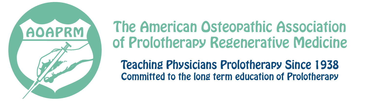 The American Osteopathic Association of Prolotherapy Regenerative Medicine