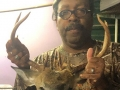 2019: Rudy Ford of Henderson, NY with with a Jefferson County 9-pointer taken Sept. 27.