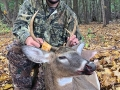 2019: Cole Glebus of Moriah with a 135-pound, 4-pointer taken on opening day of the muzzleloading season (Oct. 19) in Moriah, Essex County.