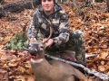 2019: Oliver Eckler of Valley Falls with a 125-pound, 8-pointer taken Oct. 19 in Keene, Essex County.