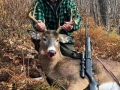 2019: Jim Euber of Vermont with a 183-pound, 8-pointer taken Nov. 3 in Long Lake, Hamilton County