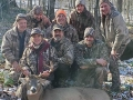 2019:  Lisa Karbowski's first buck: a Saratoga County 8-pointer that weighed 147-pounds taken Nov. 9.