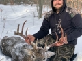 2019: Karl Pryce of Piercefield, NY with a 202-pound, 10-pointer take Nov. 13 in Conifer, St. Lawrence County.