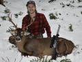 2019: Frank Julian of Waterford, NY with his first Adirondack buck on Nov. 15:  a 130-pound 7-pointer taken in Schroon Lake, Essex County.
