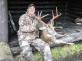2019: Eric Boak with another fine Adirondack buck. This one a 167-pound, 7-pointer with 19 1/4-inch inside spread taken Nov. 5.