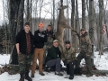 2019: The Wolf Pond Hollow Gang with a 150-pound, 8-pointer taken Nov. 28 in Thurman, Warren County.
