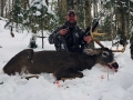 2019: Harlan French with another fine Adirondack buck taken Nov. 15 in Indian Lake, Hamilton County.