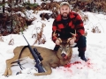 2019:  Matthew Matteson of Woodgate with a 5-pointer taken Nov. 22 in Woodgate, Oneida County.