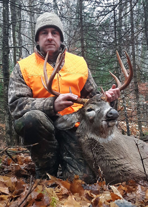 2020: John Travis, of Lagrangeville, with a 10-pointer taken Nov. 28 in Indian Lake, Hamilton County.