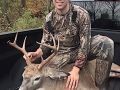 2020: Joseph Zarecki, of Broadalbin, with a 180-pound, 8-pointer taken by bow on Oct. 12 in Hamliton County.