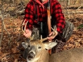2020: Nate Crouse, of Charlotte, N.C., with a 180-pound, 8-pointer taken Nov. 21 in Hamilton County.