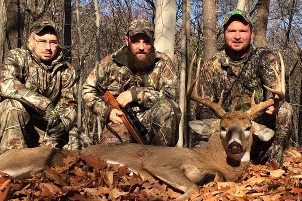 Luke Petteys with a public land 9-pointer taken in Warren County on Nov. 25
