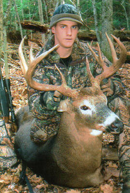 2005: Kane Sprague of Moriah with a hometown monster