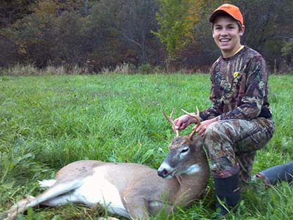 2012: Steven Duell of Queensbury, 4-pointer, 130-pounds, youth hunt, first buck.
