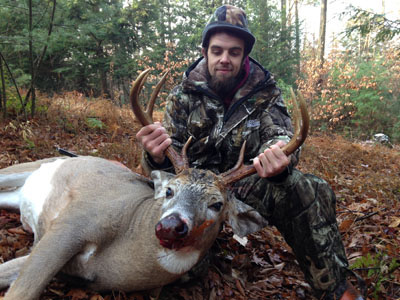 2013: Justin Hayes, 7-pointer, 185-pounds, Saratoga County