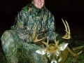 2008: Abbey Wade of Fort Ann, 10-pointer, taken while six-months pregnant