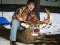 2010: Hunter Moon (age 14), 11-pointer, first buck, Essex County