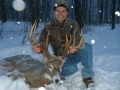 2010: Greg Murray of Potsdam, 12-pointer, 175-pounds, Follensby Pond Gatehouse Club, Tupper Lake