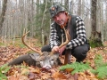 2011: Jim King of Watertown, NY, 8-pointer, 168-pounds, Stillwater Reservoir