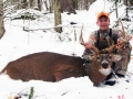 2012: Andrew Caron (age 15), 8-pointer, Franklin County