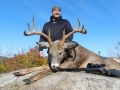 2012: Alan Brown, 10-pointer, 247-pounds, early muzzleloading season, Hamilton County
