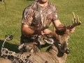 2014: Steven Vivyan, opening day archery buck, Fort Drum