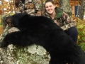 2014: Justine Morgan (age 15,) from Mosquitoville, Vermont, black bear, Hamilton County, youth hunting weekend
