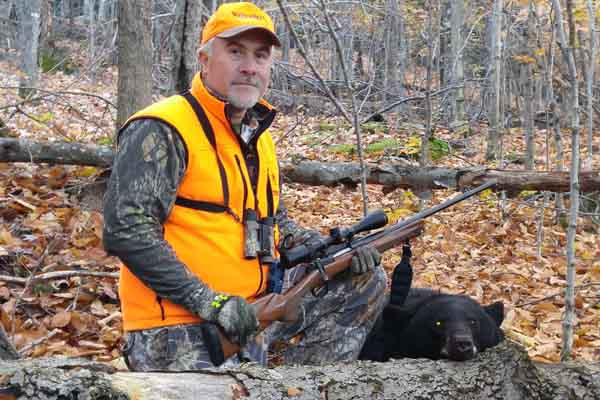 Larry Bashaw, EssexCounty black bear from the Town of Keene