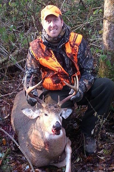 Jeremy Smith: 190-pound, 8-pointer takend in Herkimer County