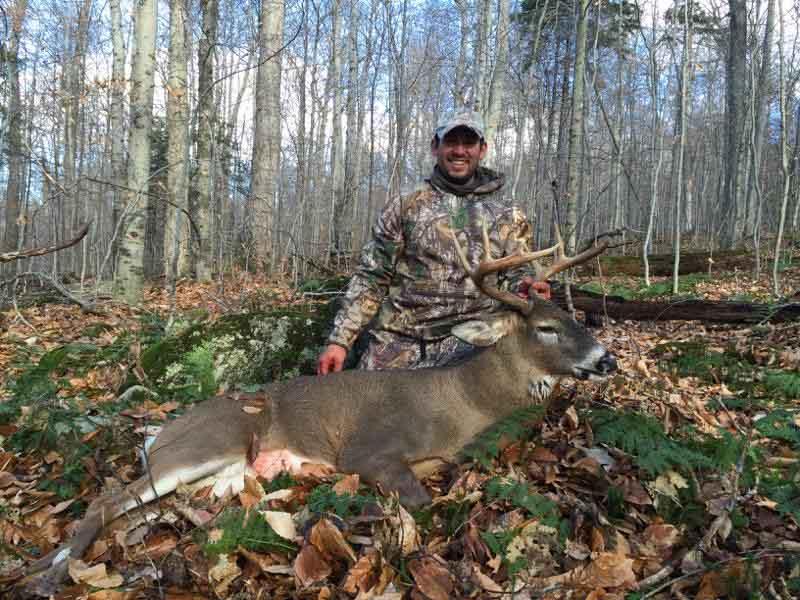 Spenser Marsh, Pavilion NY: 194-pound, 9-pointer taken Nov. 8 in Clifton, St. Lawrence County