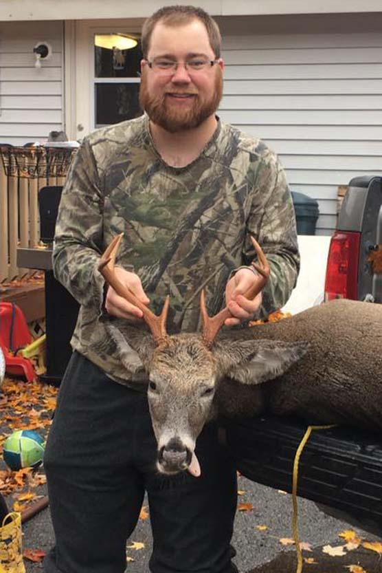 Bruce Saville of Fort Edward: 133-pound, 8-pointer taken Opening Day (Oct. 22) in North Hudson, Essex County