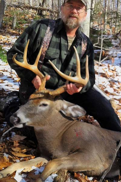 2017: Dave First with a 159-pound, 8-pointer taken Nov. 12 in Ohio, Herkimer County.