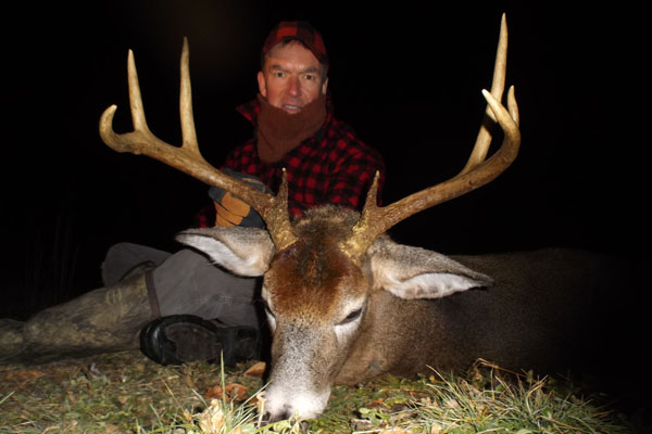 2017: Drew Peacock of Camp Squaw with an 8-pointer taken Dec. 3 in Hamilton County.