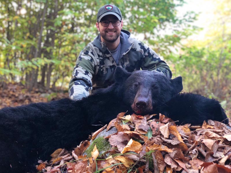 2018: Victor Horshack of Camp Squaw shot this 155 lb male during muzzleloading season in Hamilton County