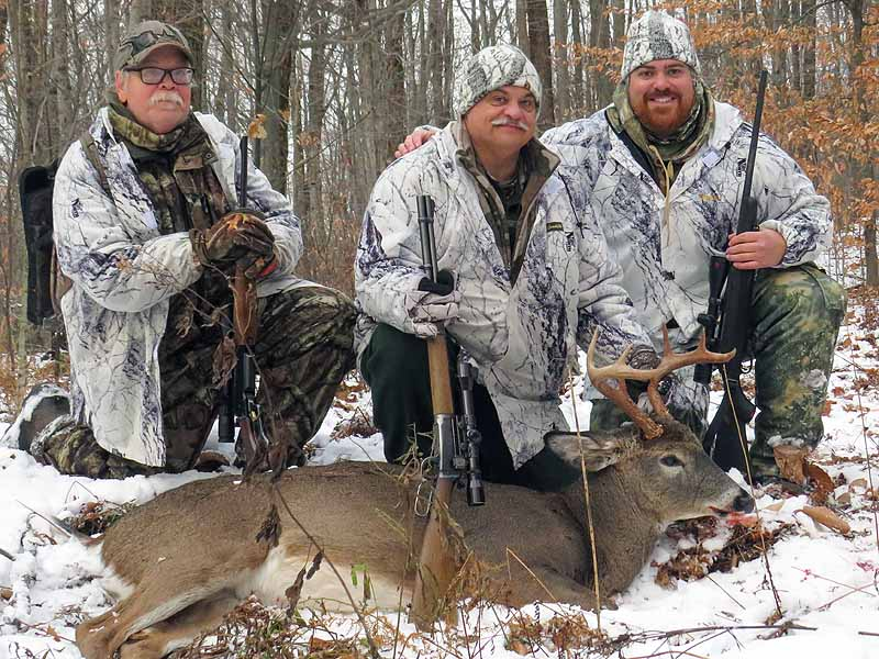 2019: Steve Sawn of Kingsbury with a 134-pound, 8-pointer take Nov. 10 at the Windy Hill Club in Hogtown, Washington County. Steve used his Dad's 32 Winchester Special. Hid dad passed 40 years ago this year.