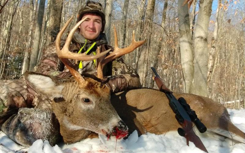 2019: Justin Ellsworth with a fine buck taken Nov. 16 in Warrensburg, Warren County.