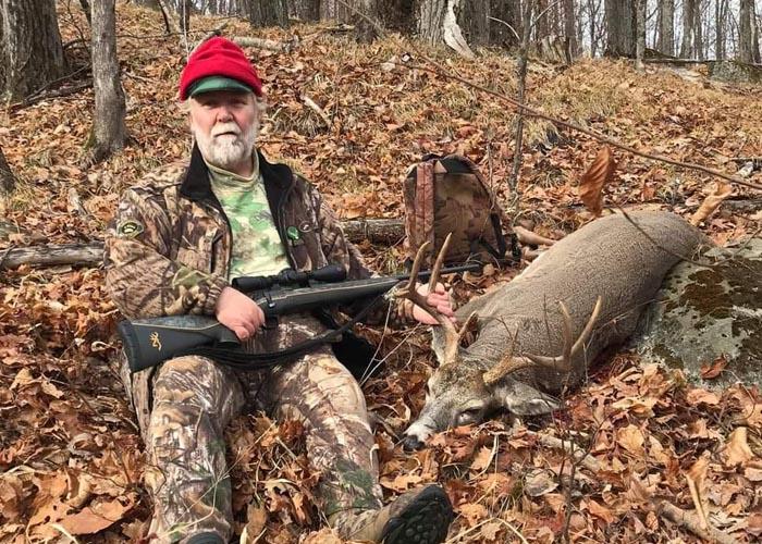 2020: Bill Russell's 161-pound, 8-pointer taken Nov. 12 in Johnsburg, Warren County.