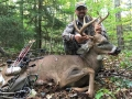 2018: Ben Secor of Remsen, NY with a hometown early archery 8-pointer taken on Sept. 30, 2018.