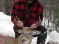 2018: Brian Connor of Brooklyn, NY with an 8-pointer taken Nov. 24 in Wells, Hamilton County. This was Brian's first buck!