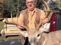 2018: Veteran Adirondack hunter Clifford Gates with a fine muzzleloading buck taken Oct. 13 in his hometown of Warrensburg. 10-points, 193-pounds.