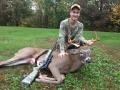 Matt Hoffman of Hadley with a 165-pound, 10-pointer taken Oct. 15 in Saratoga County.