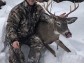 2018: Nathan Peo of Ogdensburg, NY, with his first Adirondack buck; a 160-pound, 7-pointer, taken on Nov. 17 at the Out-A-Fit Club in Cranberry Lake, St. Lawrence County.