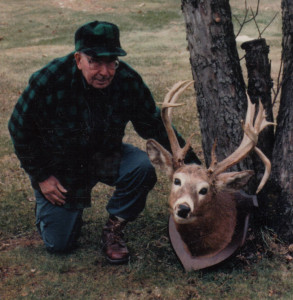 Duff, in his elder years, with an 18-pointer taken in the late 1960s