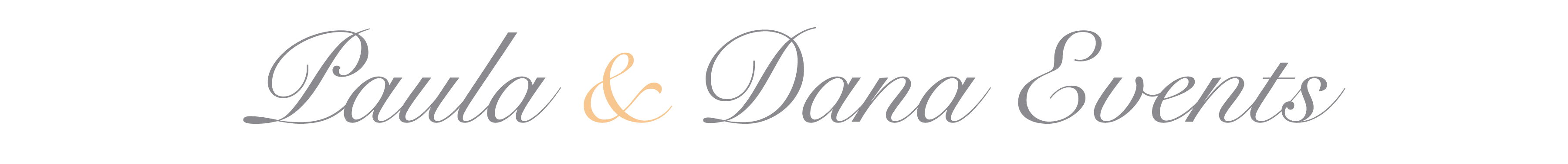 Paula & Dana Events