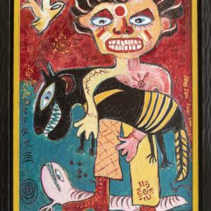 Aussie Man with Tasmanian Devil