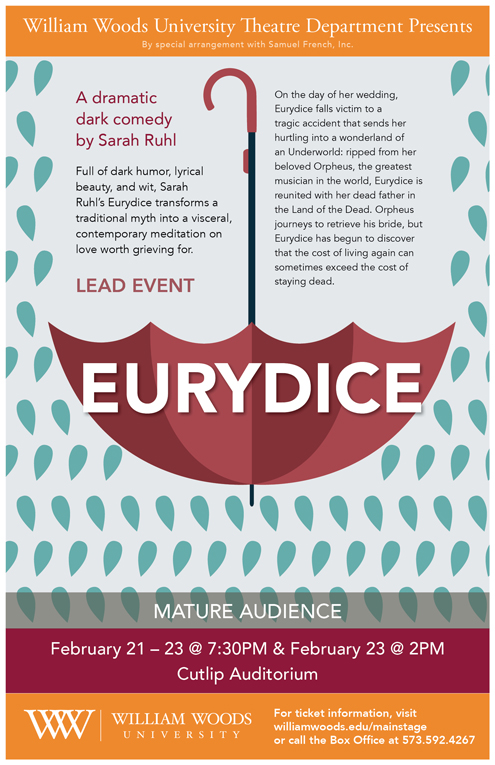 Eurydice Play Poster