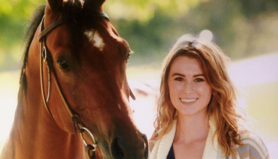 Jennifer Wilson with horse