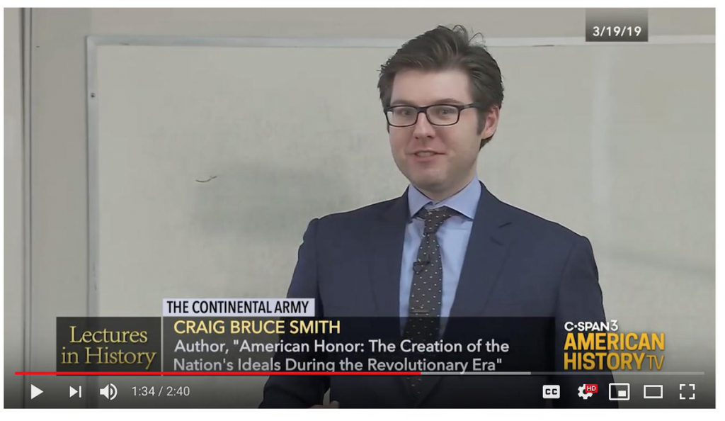 Craig Smith on CSPAN